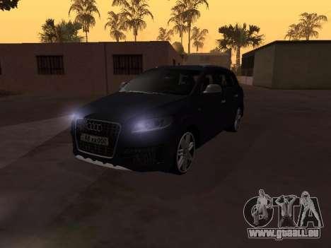 Audi Q7 Armenian pour GTA San Andreas