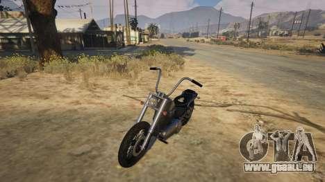GTA 5 Daemon SOA Harley-Davidson Rückansicht
