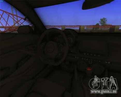 Chevrolet Camaro SS Xtreme pour GTA San Andreas vue arrière
