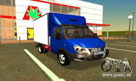 Gazel 3302 Geschäft für GTA San Andreas