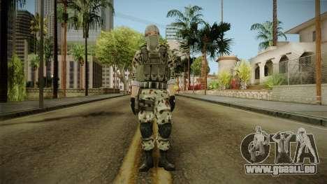 Resident Evil ORC Spec Ops v1 pour GTA San Andreas deuxième écran