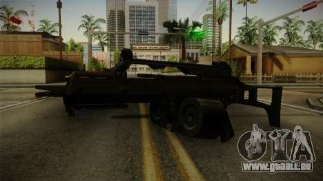 HK G36C v1 pour GTA San Andreas deuxième écran