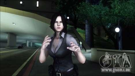 Resident Evil 6 - Helena Usa Outfit für GTA San Andreas dritten Screenshot