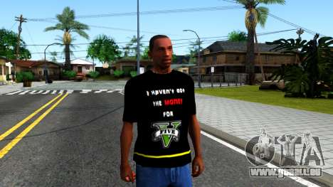 Love To Play San Andreas T-Shirt für GTA San Andreas zweiten Screenshot