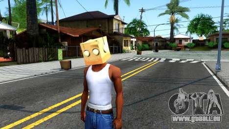 Bot Fan Mask From The Sims 3 für GTA San Andreas