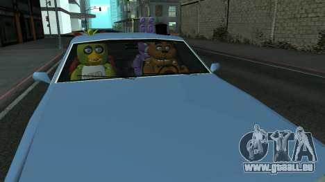 Five Nights At Freddys pour GTA San Andreas
