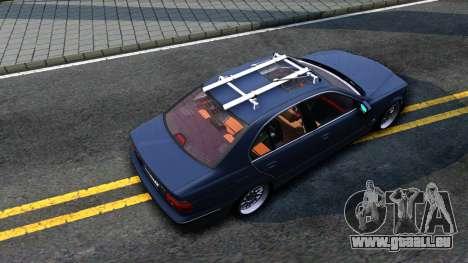 BMW e39 530d pour GTA San Andreas vue arrière