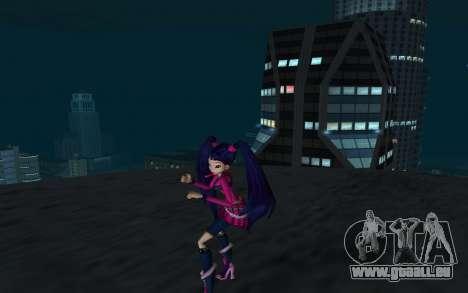 Musa Rock Outfit from Winx Club Rockstars pour GTA San Andreas deuxième écran