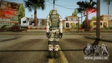 Resident Evil ORC Spec Ops v1 pour GTA San Andreas troisième écran
