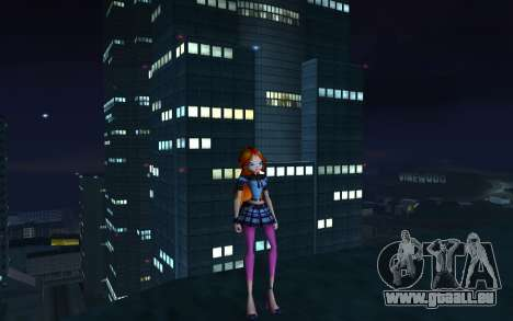 Bloom Rock Outfit from Winx Club Rockstar pour GTA San Andreas