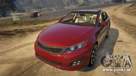 KIA Optima 2014 für GTA 5