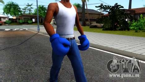 Blue Boxing Gloves Team Fortress 2 pour GTA San Andreas deuxième écran