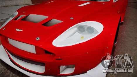 Aston Martin Racing DBRS9 GT3 2006 v1.0.6 YCH v2 für GTA San Andreas obere Ansicht