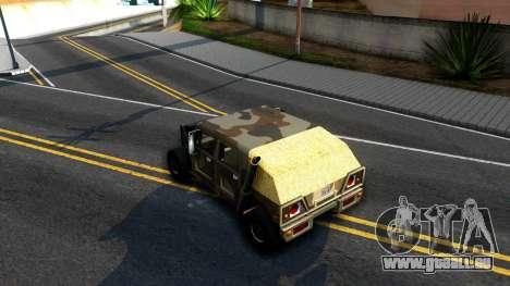 New Patriot GTA V für GTA San Andreas rechten Ansicht