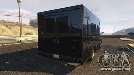 GTA 5 Ambulance SAMU Santa Catarina Brasil hinten links Seitenansicht