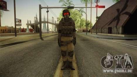 Resident Evil ORC - USS v4 für GTA San Andreas zweiten Screenshot