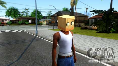 Bot Fan Mask From The Sims 3 für GTA San Andreas zweiten Screenshot