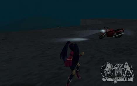 Musa Rock Outfit from Winx Club Rockstars pour GTA San Andreas quatrième écran