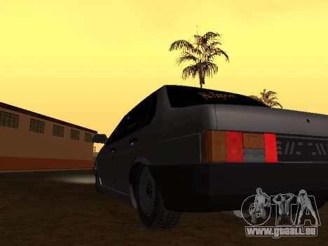 VAZ 21099 BPAN für GTA San Andreas rechten Ansicht