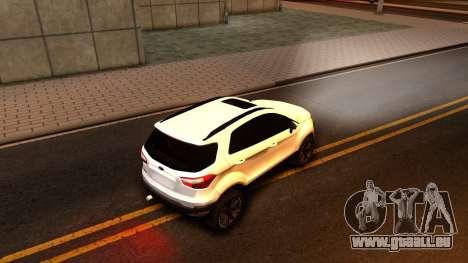 Ford EcoSport 2016 pour GTA San Andreas vue de droite