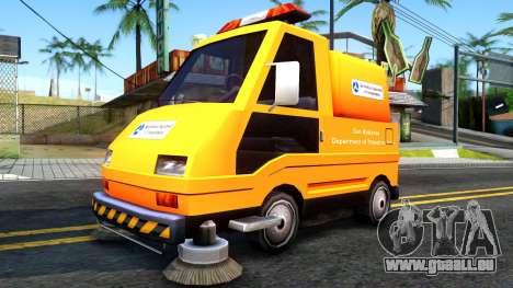 Brute Sweeper SA DOT 1992 pour GTA San Andreas