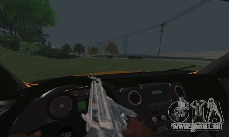 Oural De Carburant Du Camion À Côté pour GTA San Andreas vue de dessus