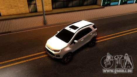 Ford EcoSport 2016 pour GTA San Andreas vue arrière