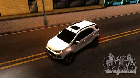 Ford EcoSport 2016 für GTA San Andreas Rückansicht