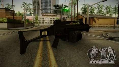 HK G36C v1 pour GTA San Andreas troisième écran