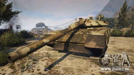 GTA 5 T-100 Varsuk vue latérale gauche