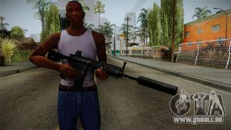 HK416 v3 pour GTA San Andreas troisième écran