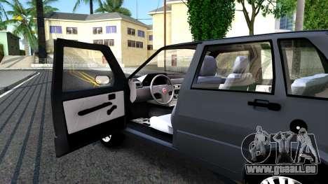 Fiat Uno Fire Mille V1.5 pour GTA San Andreas vue arrière