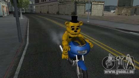 Five Nights At Freddys für GTA San Andreas zweiten Screenshot