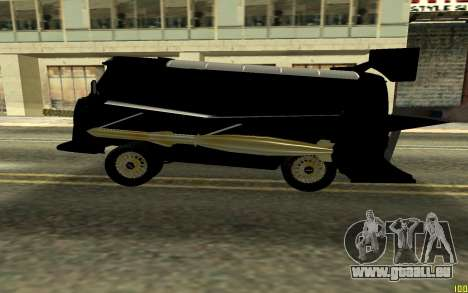UAZ BUXANKA pour GTA San Andreas laissé vue