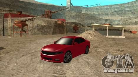 Dodge Charger R/T 2015 für GTA San Andreas