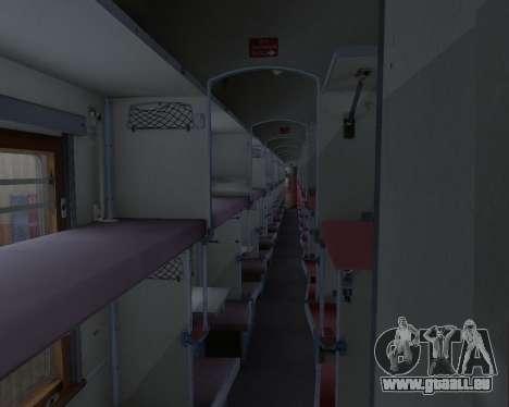 Zweite-Klasse-Abteil für GTA San Andreas Innen