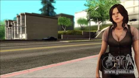 Resident Evil 6 - Helena Usa Outfit für GTA San Andreas zweiten Screenshot