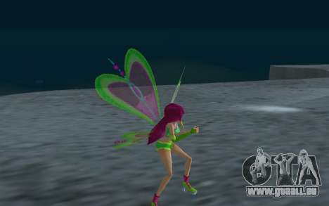 Fairy Roxy from Winx Club Rockstars für GTA San Andreas her Screenshot