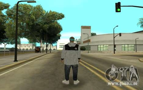 Varios Los Aztecas 2 pour GTA San Andreas troisième écran
