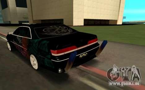 MARK 100 für GTA San Andreas linke Ansicht