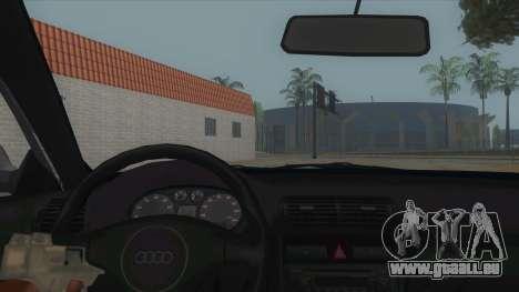 Audi S3 für GTA San Andreas Innenansicht