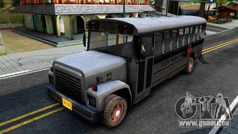 Prison Bus Driver Parallel Lines pour GTA San Andreas