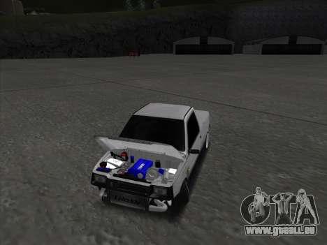 VAZ 1111 Drift pour GTA San Andreas vue intérieure
