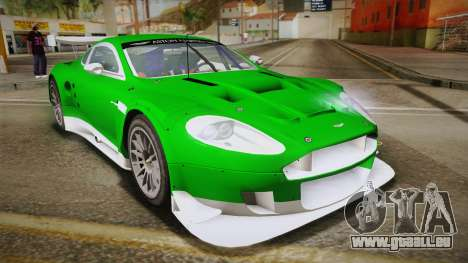 Aston Martin Racing DBR9 2005 v2.0.1 YCH Dirt für GTA San Andreas