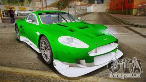 Aston Martin Racing DBR9 2005 v2.0.1 YCH Dirt für GTA San Andreas
