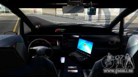 2010 Dinka Perennial Unmarked für GTA San Andreas Rückansicht
