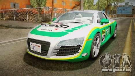 Audi R8 Coupe 4.2 FSI quattro US-Spec v1.0.0 v2 pour GTA San Andreas vue de côté
