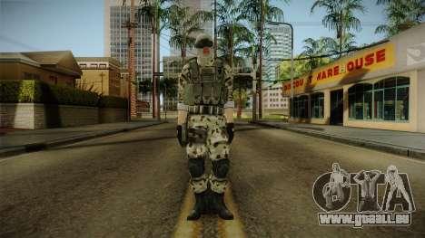 Resident Evil ORC Spec Ops v3 pour GTA San Andreas deuxième écran