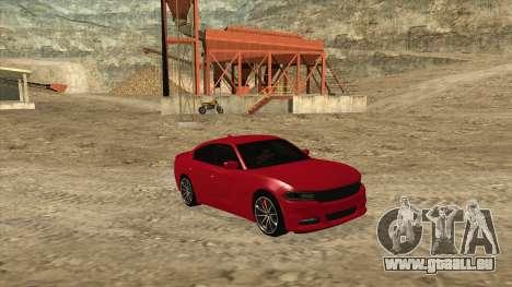 Dodge Charger R/T 2015 für GTA San Andreas rechten Ansicht