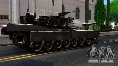 M1A1 Abrams COD4MW Remastered für GTA San Andreas Innenansicht